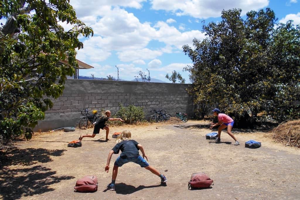 Games at Casa de Ciclistas