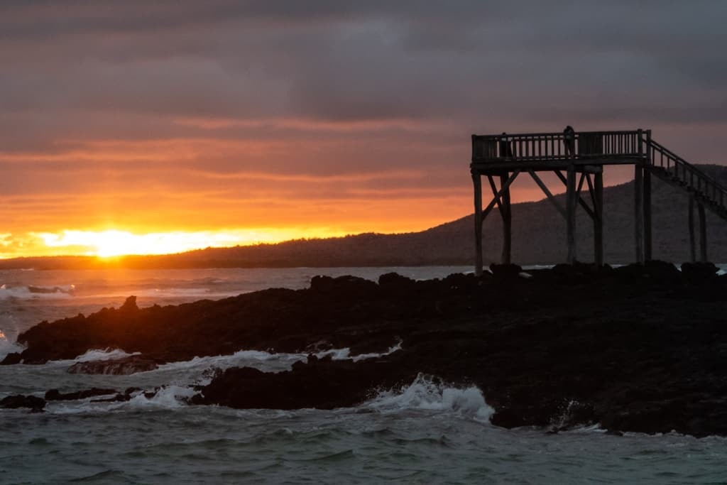 Puerto Villamil Beach, Isabela Island Galapagos