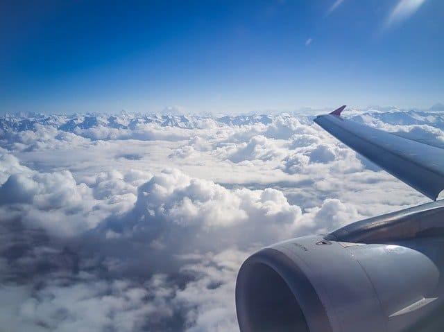 Flying window seat