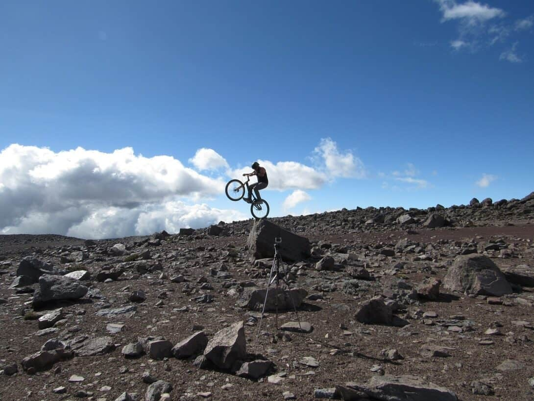 Biking Chimborazo
