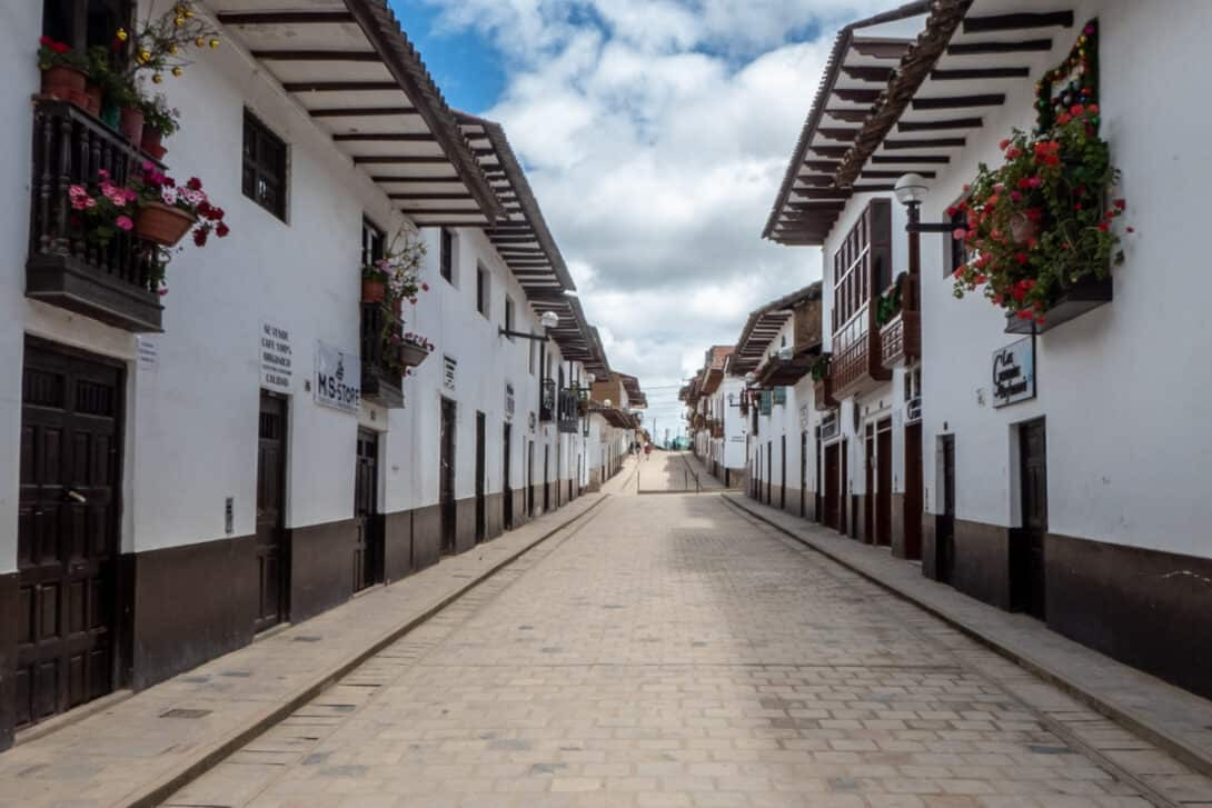 Chachapoyas streets