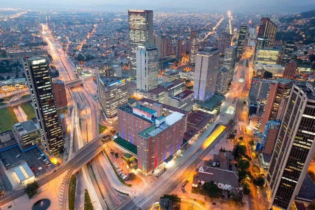 A thriving metropolis - Bogotá, Colombia
