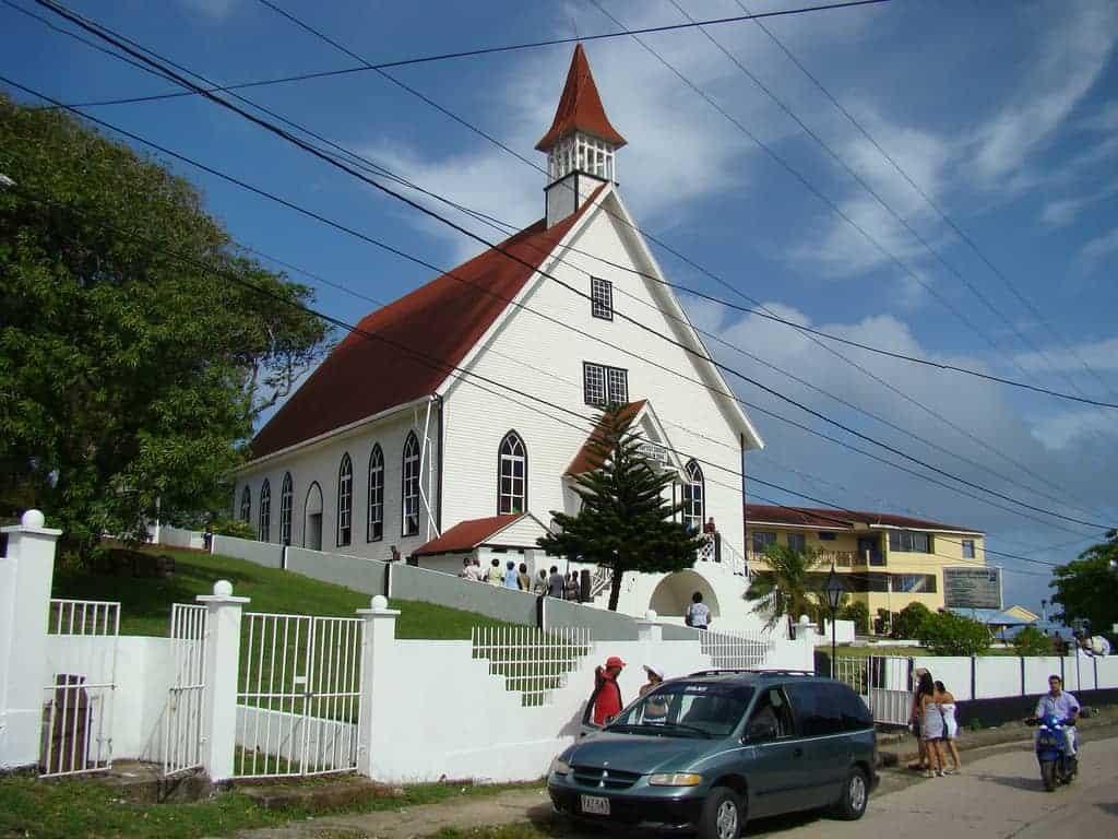 La Iglesia de San Luis, San Andrés, Colombia