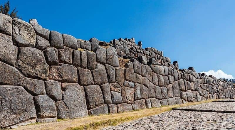 The Inca ruins of Sacsayhuamán, Cusco, Peru